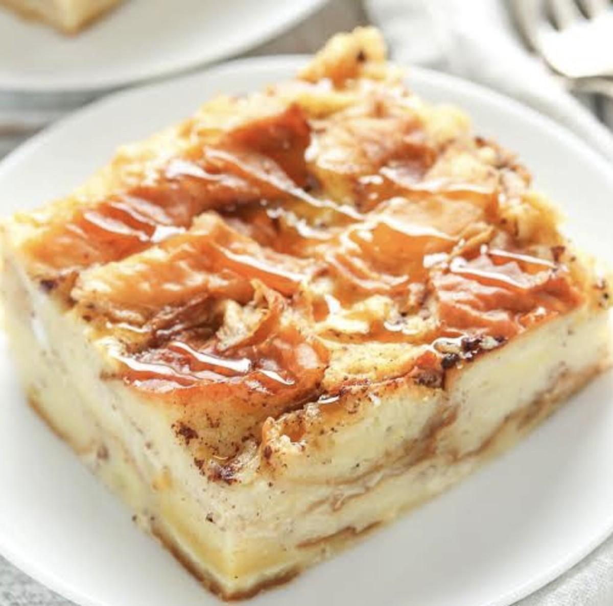 Yummy Bread Pudding Recipe