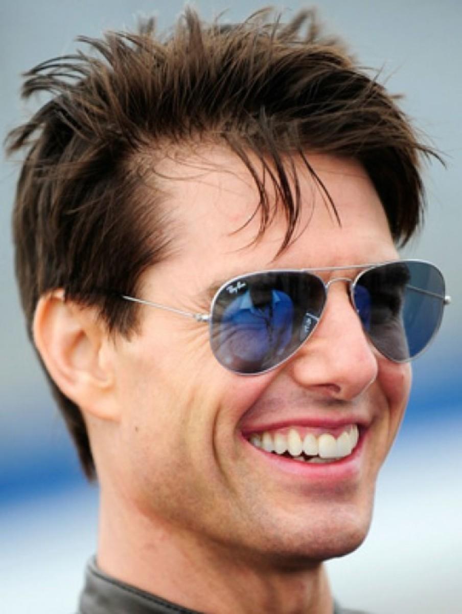 Tom Cruise with Rayban Sunglasses