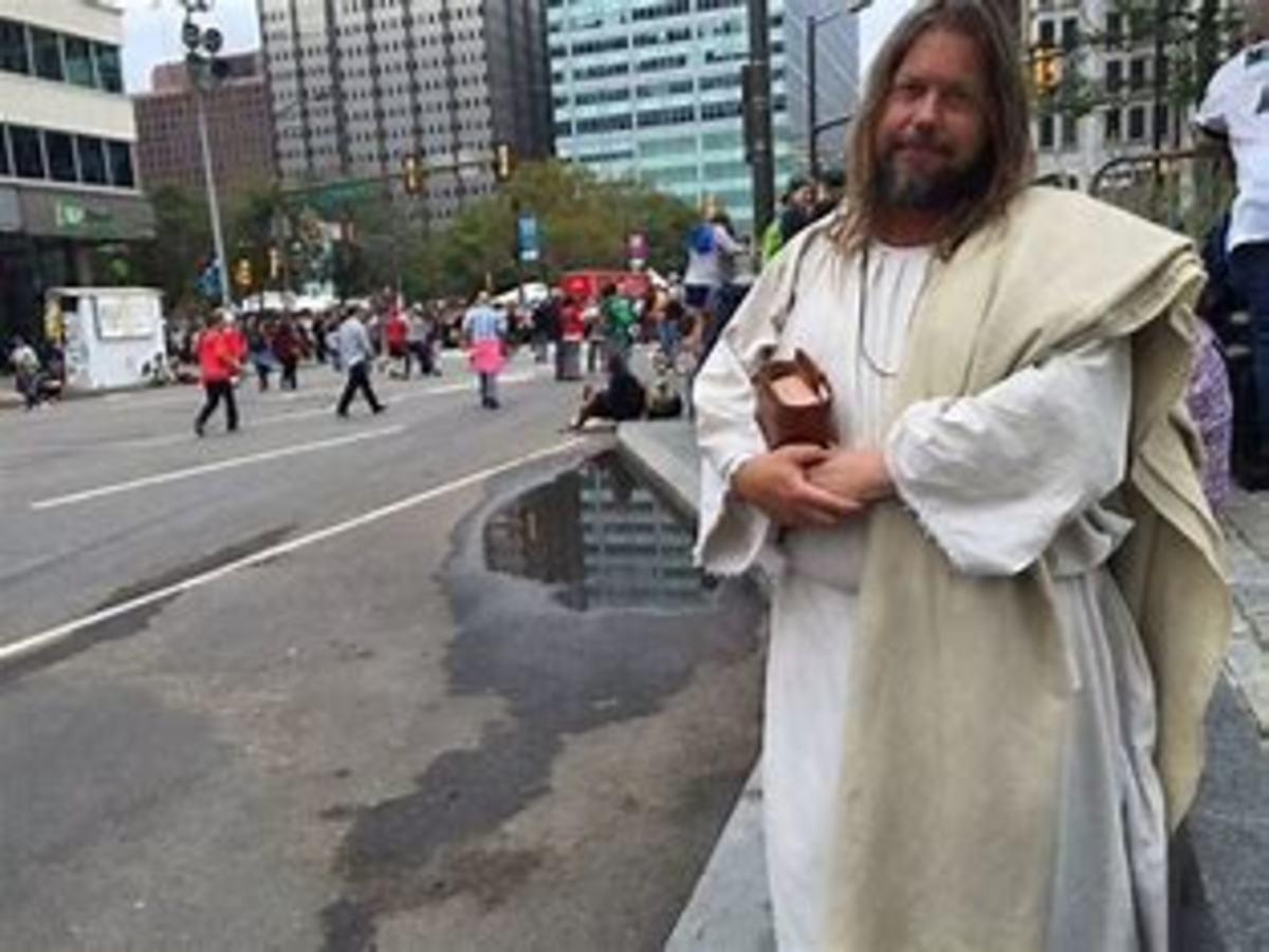 Carl Joseph aka The Jesus Guy in Philadelphia