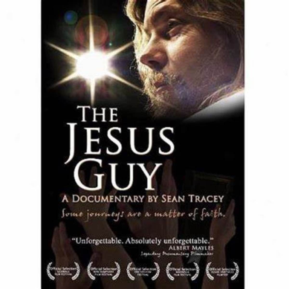 Poster for The Jesus Guy documentary
