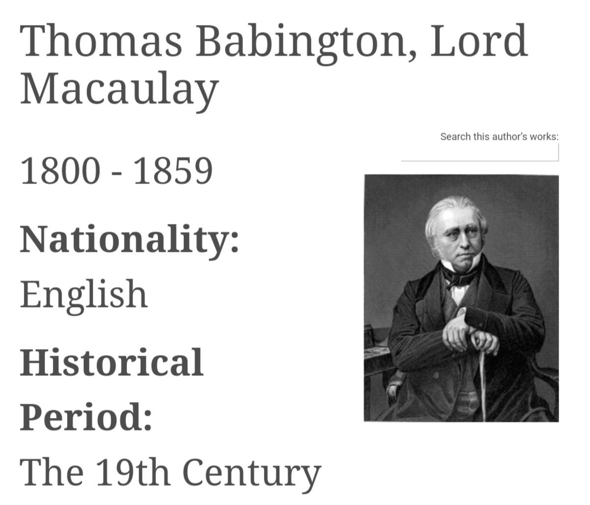 thomas-babington-macaulay-a-friend-or-foe