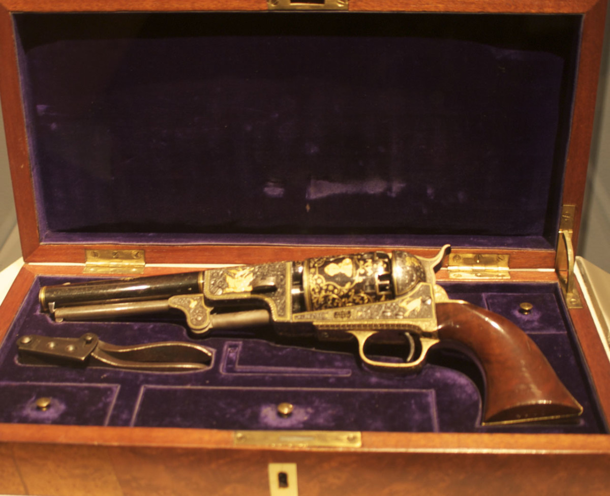 Colt presented this to Sultan of Ottoman Empire