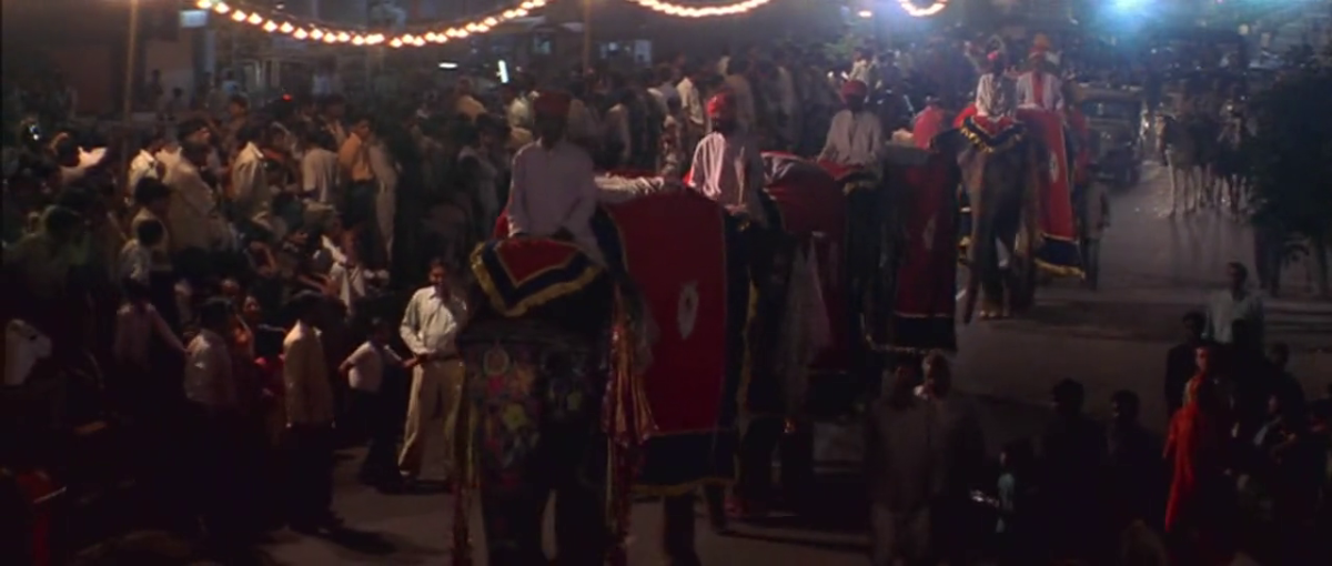 Streets of Rajpur during Dusshera