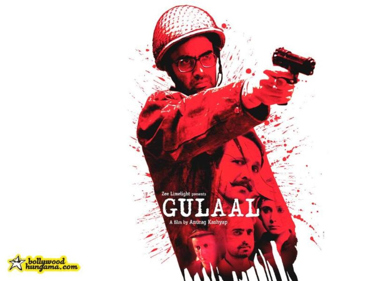 Gulaal Movie review-A Breakthrough Conventional and Stereotypical Indian Cinema