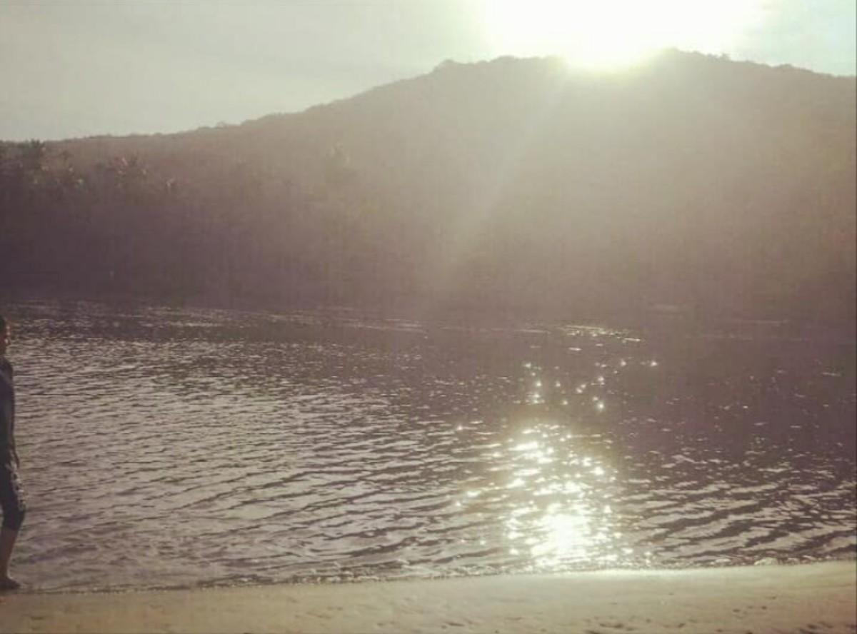 Sunrise at Tsunami Island
