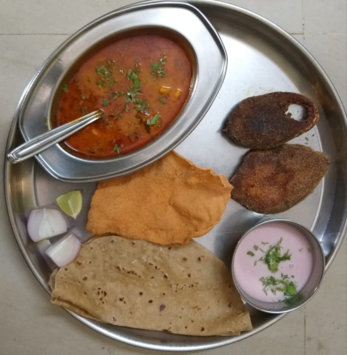 Malvan Fish Thali at Tarkarli Beach