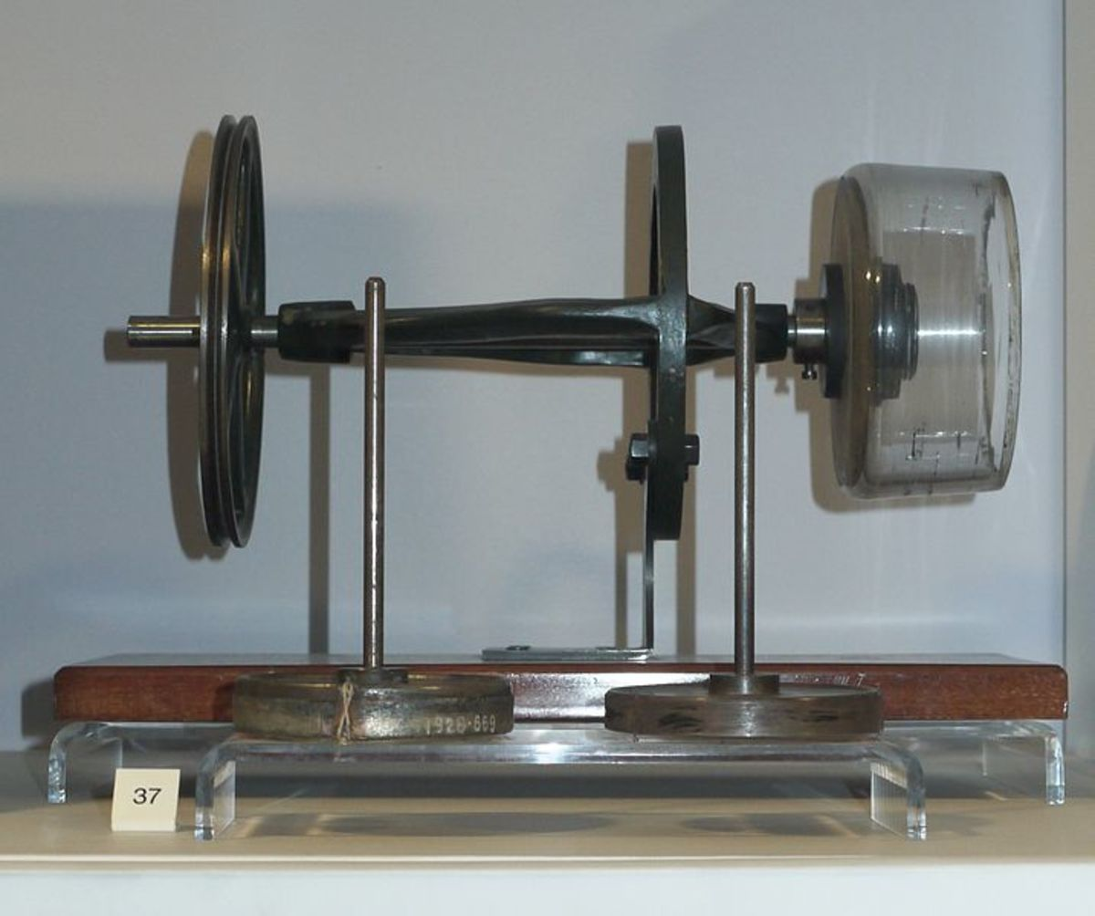 A Viscose Rayon spinning machine on display at the science museum in london.
