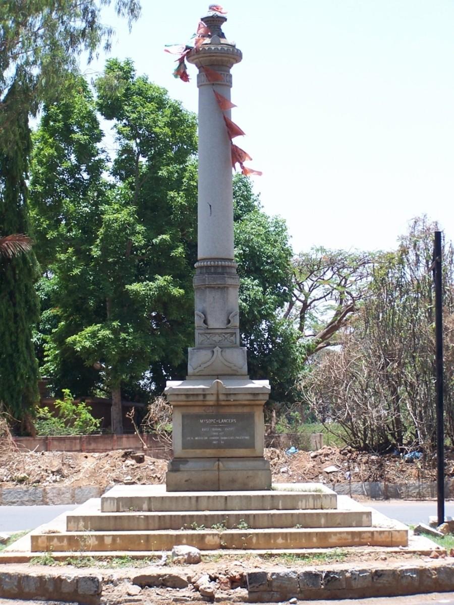 Mysore Lancer Memorial, Bengaluru