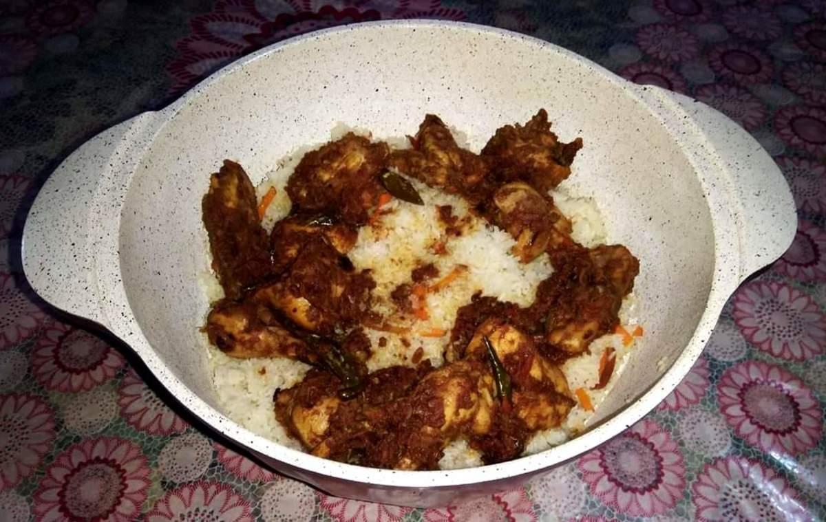 Tandoori Style Chicken Biriyani