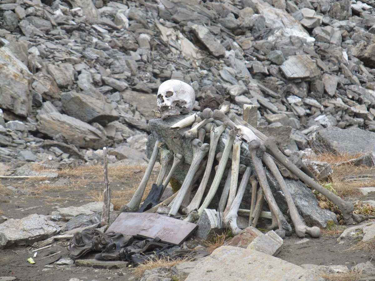 The Mystery of Skeleton Lake