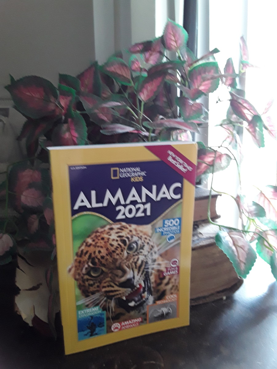 technology, animals, exploration activities and games in 2021 Almanac for Kids