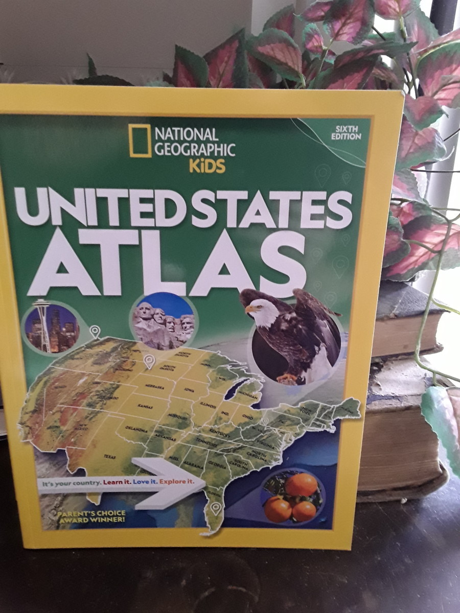 National Geographic Kids Collection of Atlases and Almanac for 2021