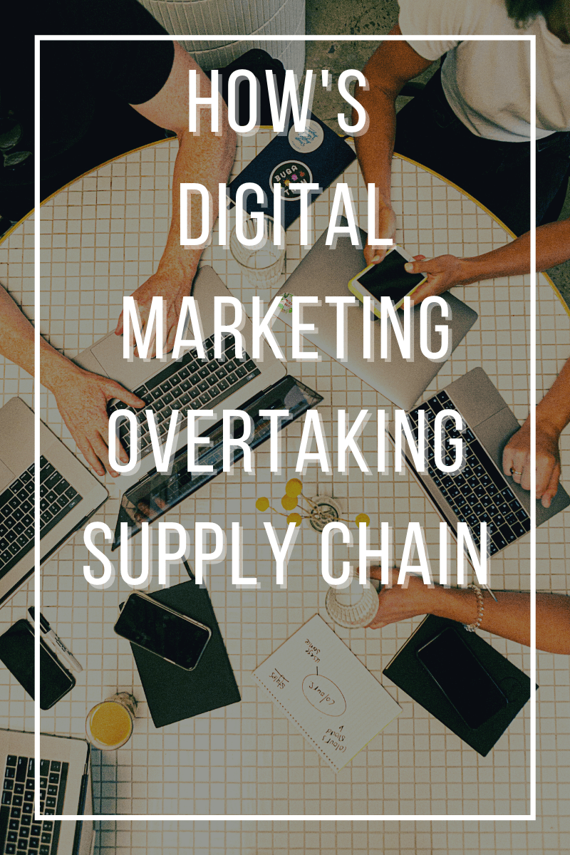 Digital Marketing: End of Role of Intermediaries in Marketing Supply Chain