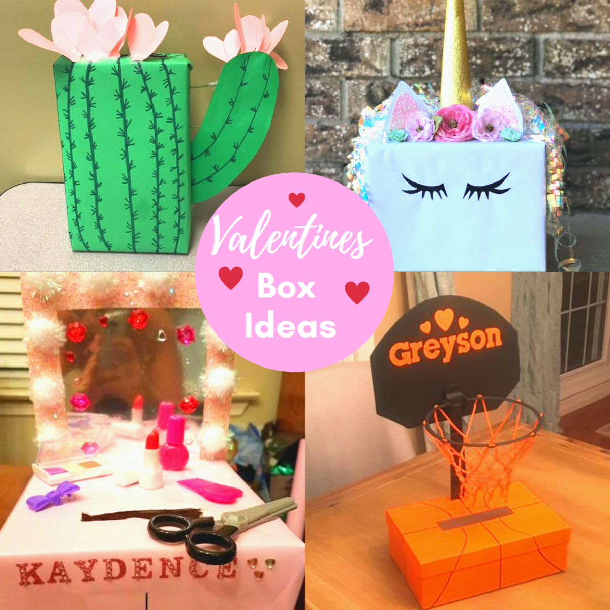 Diy Valentines Box Ideas