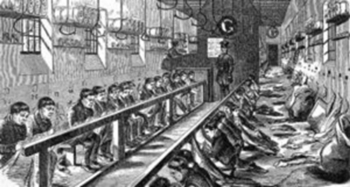 Working conditions in a Workhouse