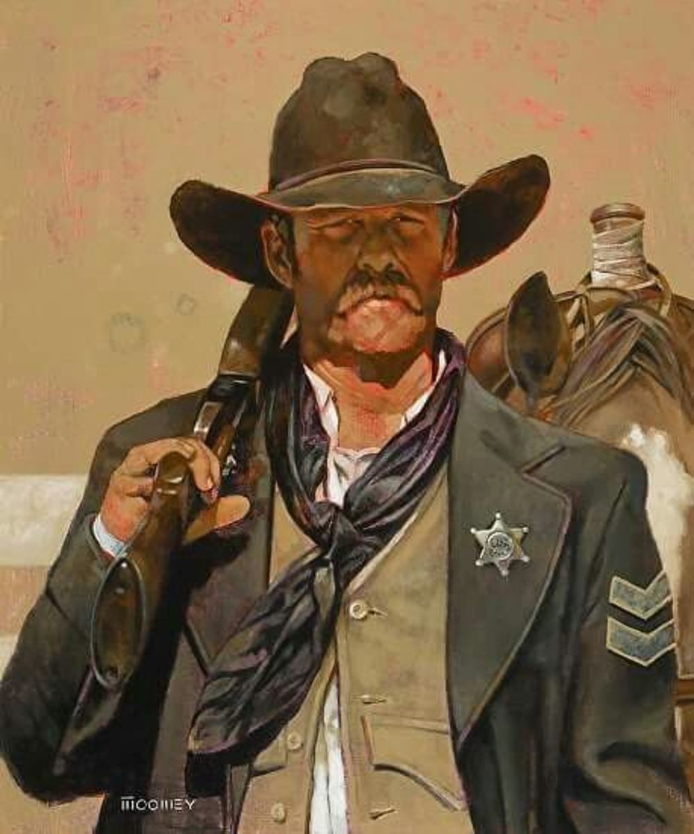 The Old West town marshal, tough, smart, and not to be taken as a friend.