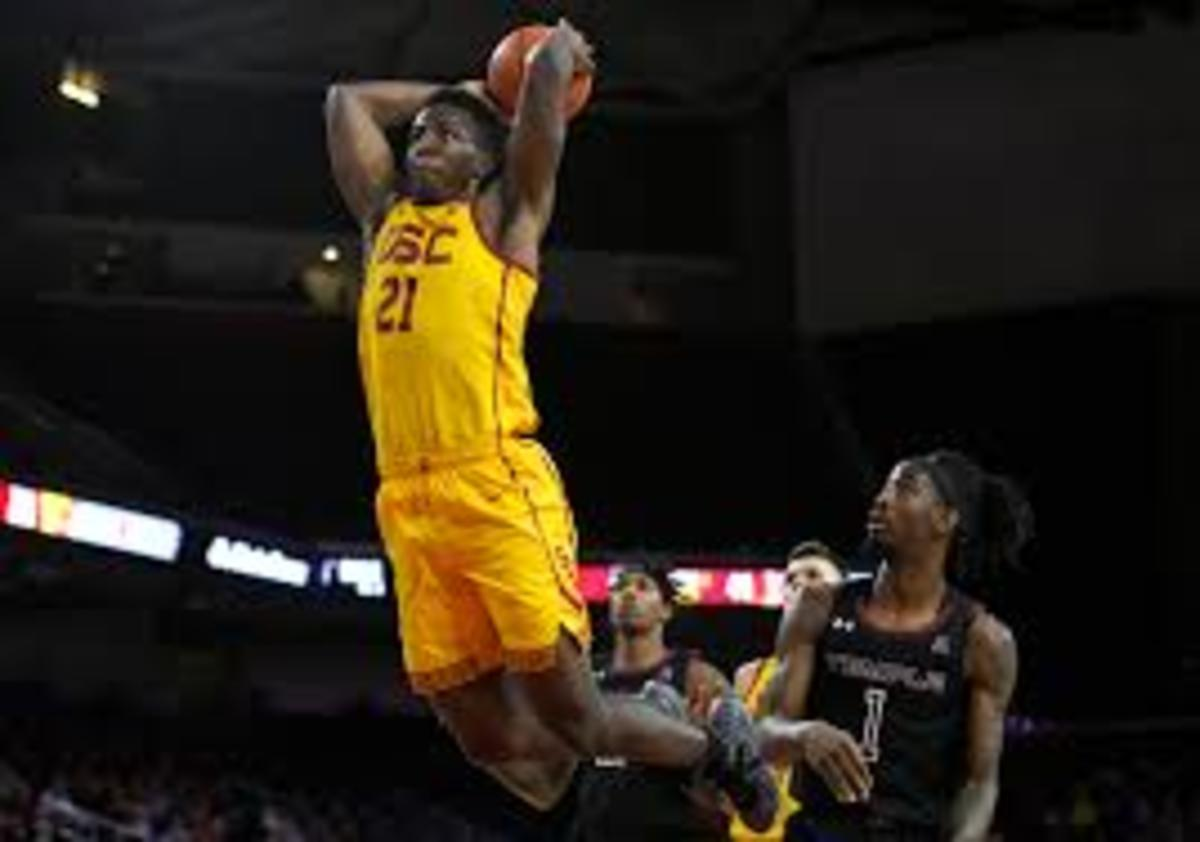 USC Onyeka Okongwu is projected to be a top 10 talent in the draft and has a chance to be drafted by Detriot. Okongwu would had a lot of defensive versatility to the team.