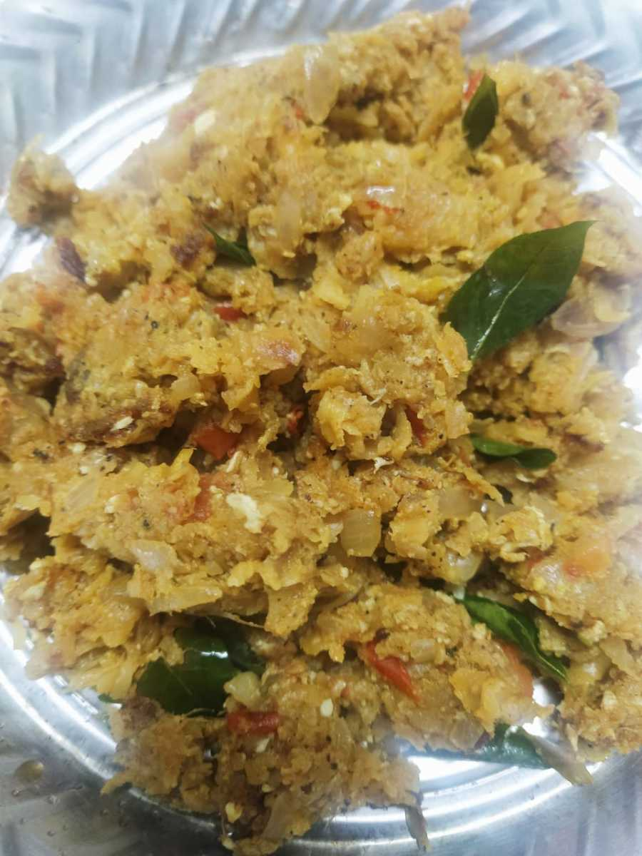 Muttai Kothu Parotta - Road Side Food of Chennai