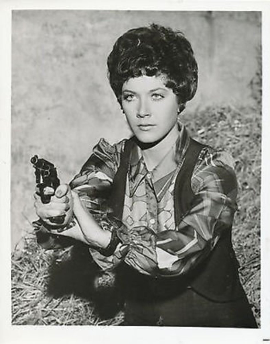 Linda Thorson in Action