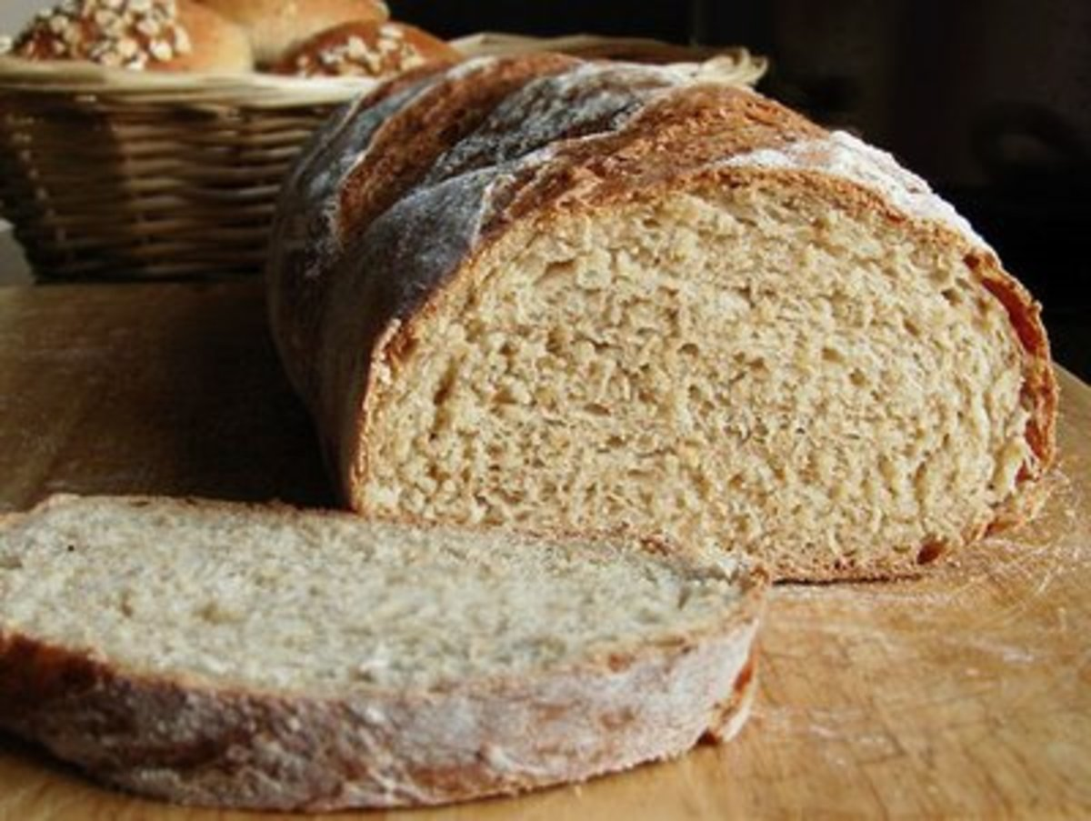 You can knead homemade bread like this in less than 10 minutes using your Bosch Stand Mixer.