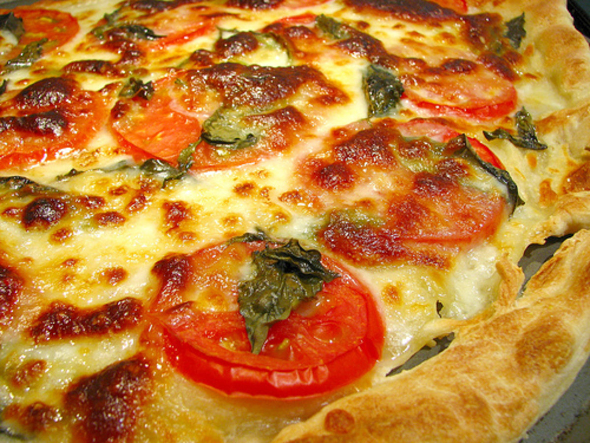 In about 10 minutes you can mix up a homemade pizza dough for your family game night. Yum!