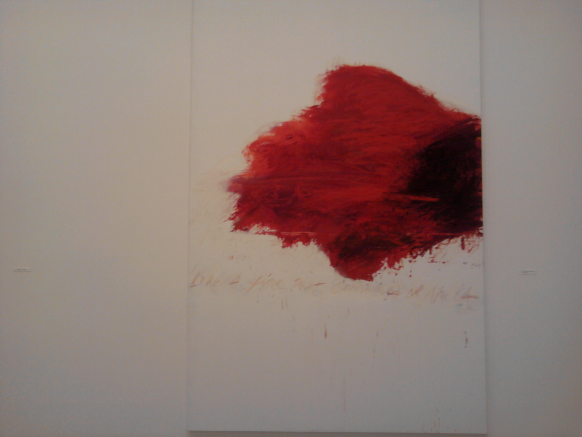 Cy Twombly Painting Philadelphia Museum of Art
