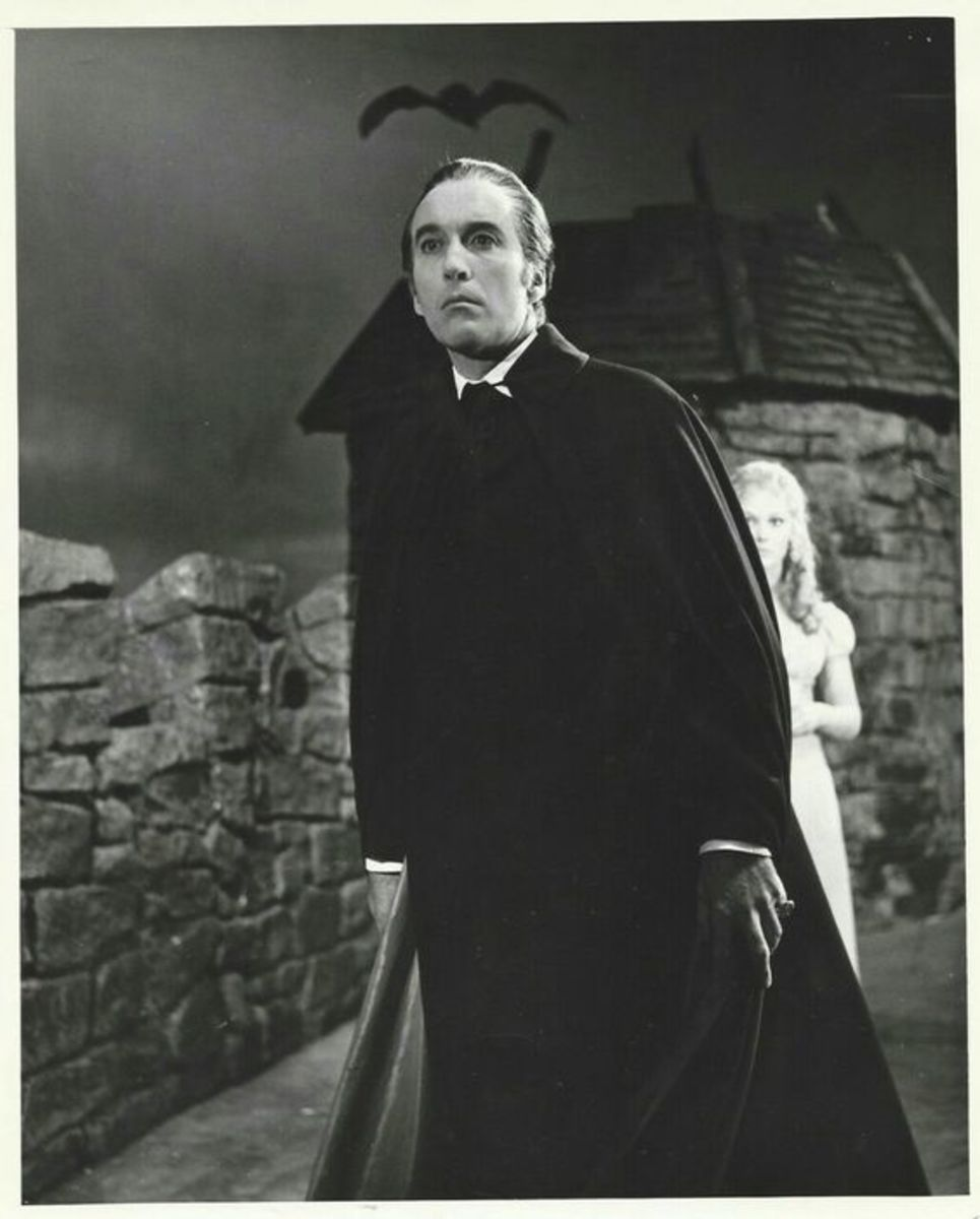 Christopher Lee is Count Dracula