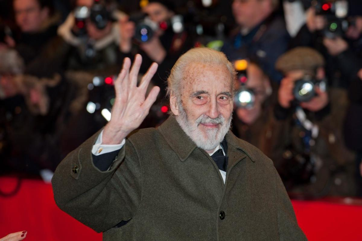 June 11, 2015: It was announced that Sir Christopher Lee had passed away on June 7, 2015 at the age of 93.