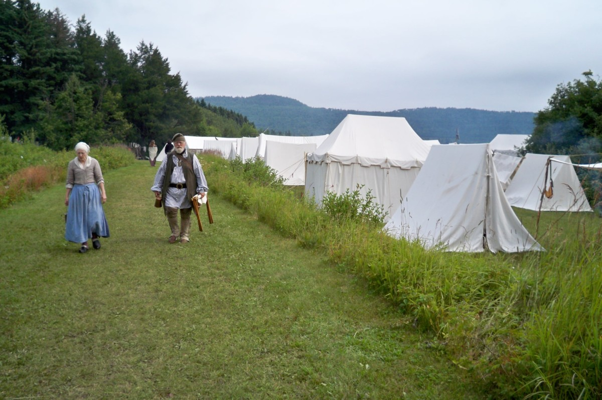 Rendezvous Days Reenactment at Minnesota's Grand Portage National Monument