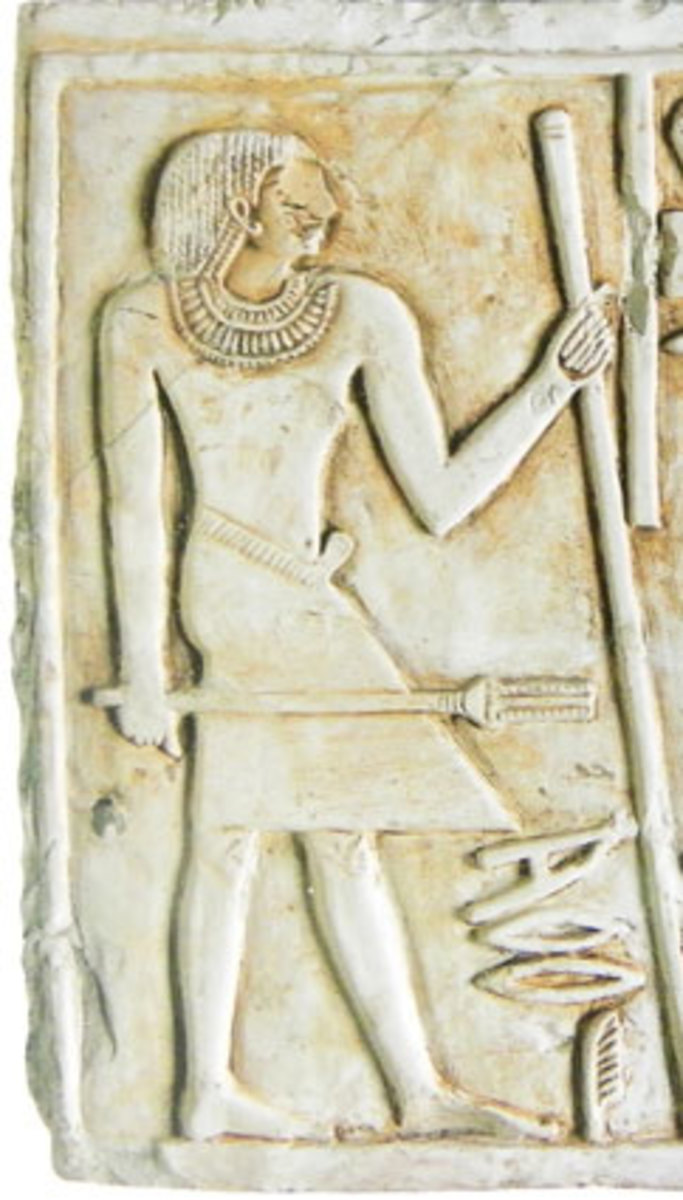 There was no distinctive priestly clothing during the Old Kingdom. - Provincial officer and priest Merire on his funerary stela (23rd or 22nd cent. B.C., Dendera,