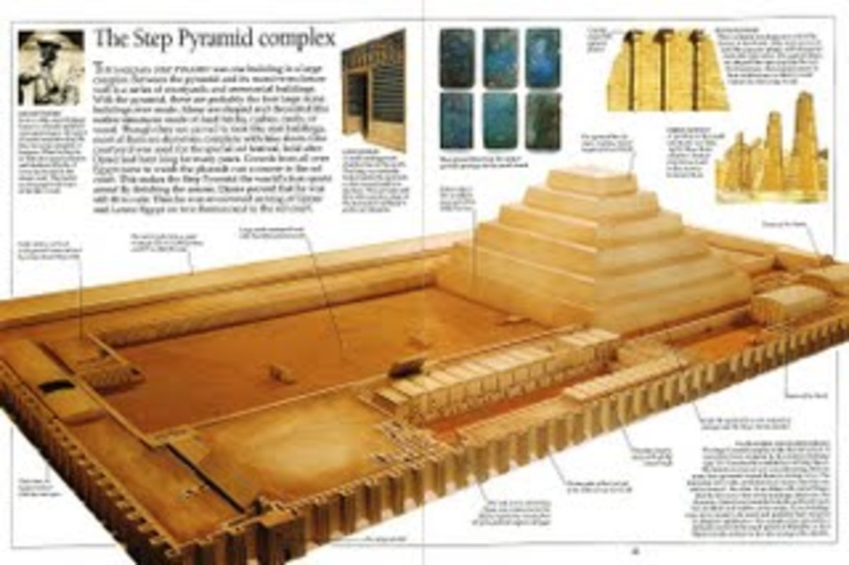 The Step Pyramid Complex, Dynasty III.  #11 photo