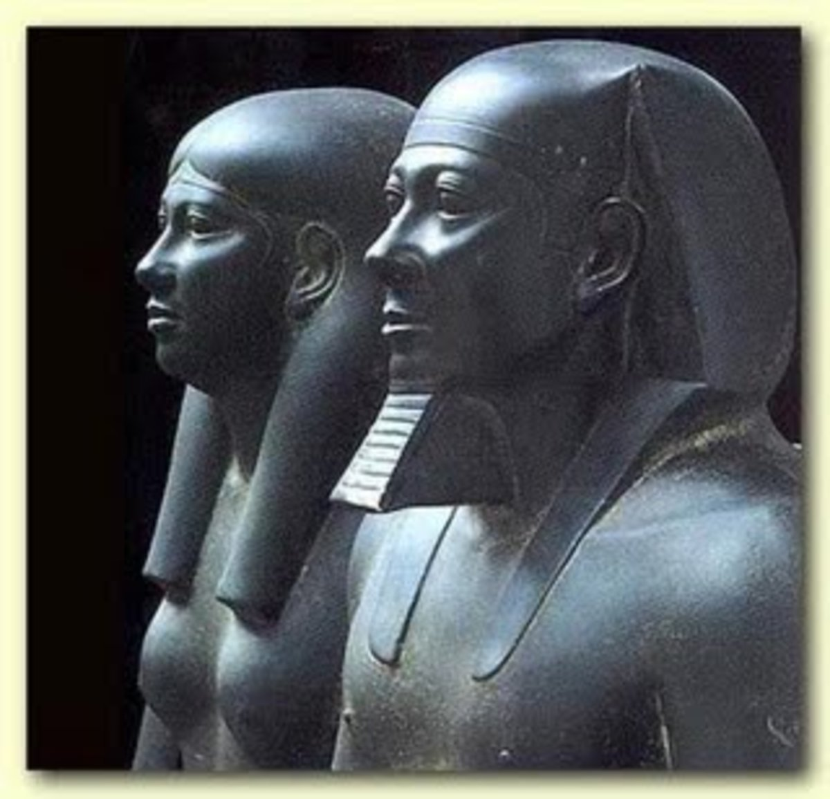 """Menkaure: """"Traditional Legend provides that Menkaure's reign was both benevolent and prosperous(Herodotus)"""