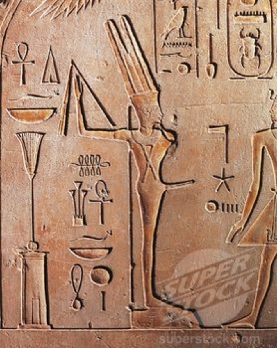 Egyptian Pharaoh Min who was know as the God of Fertility and Power and and purported to be the earliest Ruler of Egypt as told to Herodotus by the Egyptians themselves