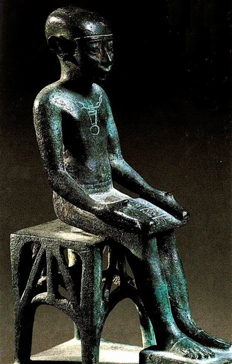 Imhotep - the World's Firs Multi-genius