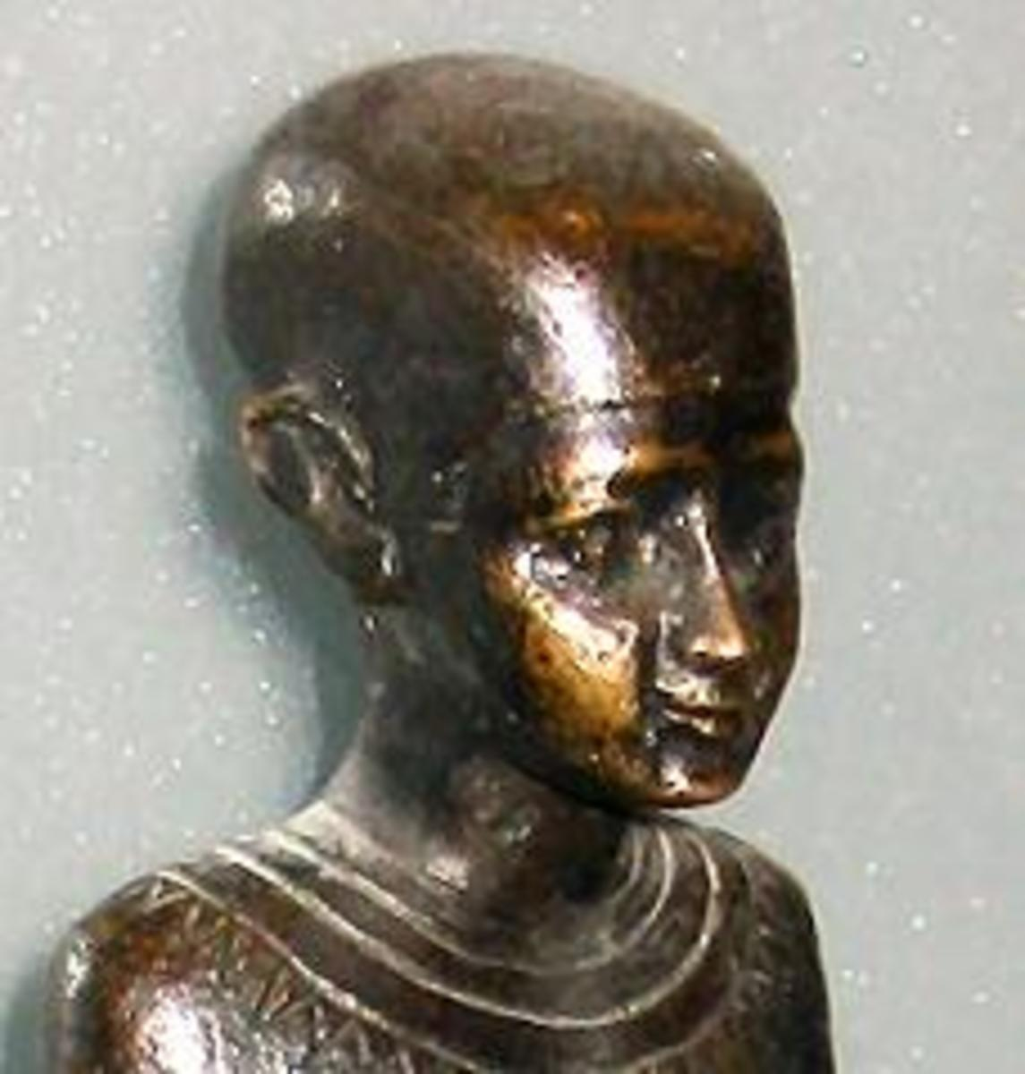 Imhotep _multi genius- (Lived in 27th century BCE) Egyptian architect, chief magician at the Pharaoh's court, vizier, sage and astrologer. About 100 years after his death, he was elevated to a medical demigod. About 2000 years later, he was elevated