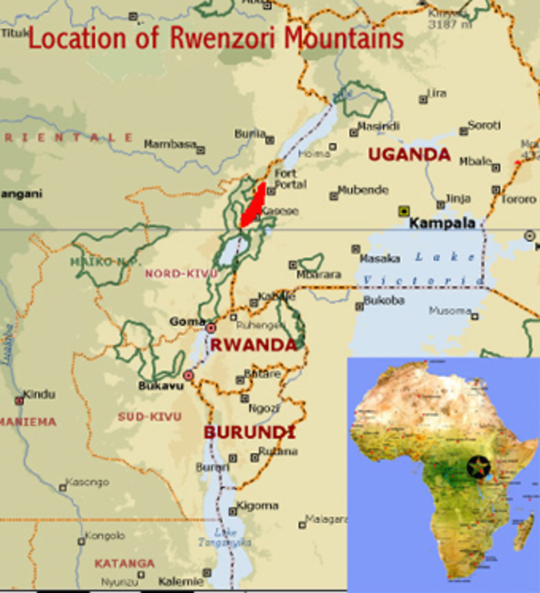 he Rwenzori Mountains are steep, rugged and very wet. They owe their origins to thrusting of the earth's crust associated with the creation of the Albertine Rift, which makes them geologically quite different to the other high East African mountains