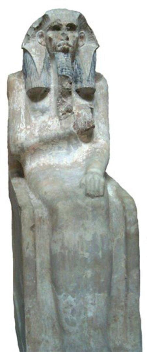 Statue of the Dynastry III King Zoser(Djoser)