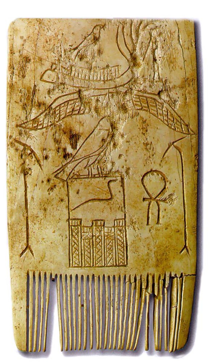 An Ivory Comb from Naqada II. And it was at this time when there was a propensity for cultural-territorial encroachment and development at all levels of specialization (ideological, technological, artistic, political-organizative, commercial, spiritu