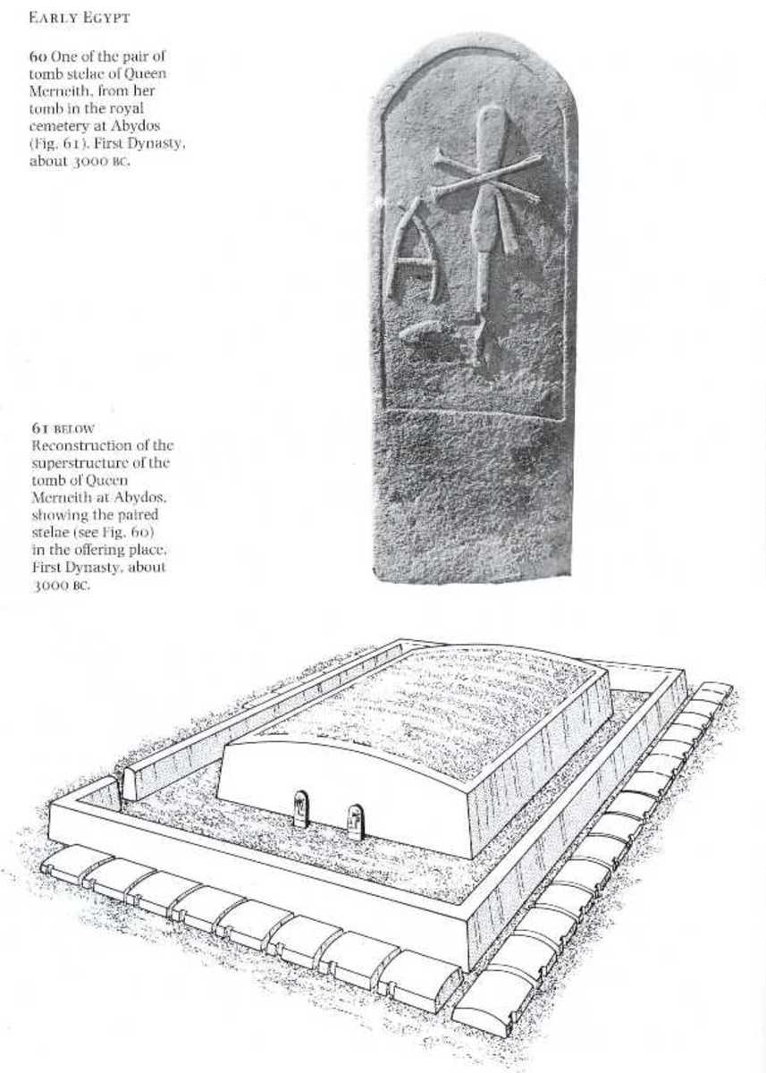 A reconstruction of the Tomb of Merneith in Abydos