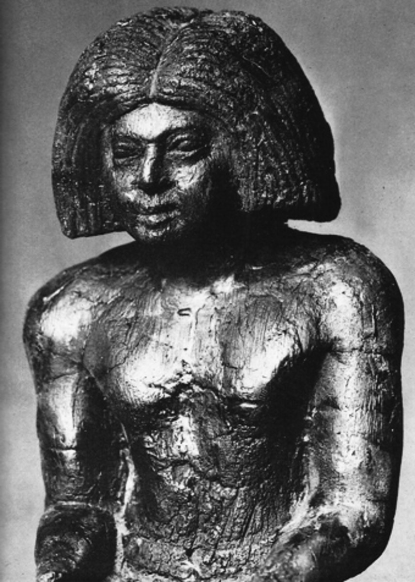 Priest for the Royal funerary religion, 6th Dynasty., -2400 B.C.