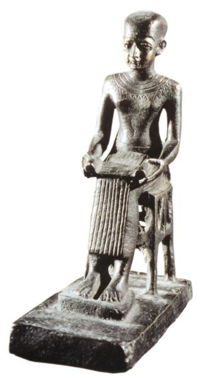 Vizier Imhotep, the World First Multi-Genius, Original Architect, Doctor for the Royalty, Deity of Medicine, and other accolades bestowed upon him too many to numerate.