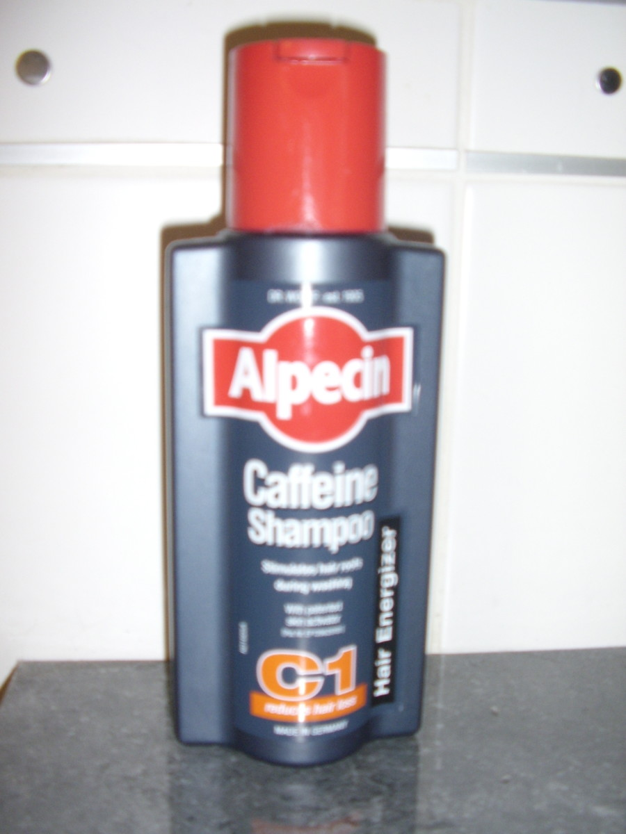 Leave this shampoo on for a minimum of two minutes daily for the caffeine to stimulate the hair follicles