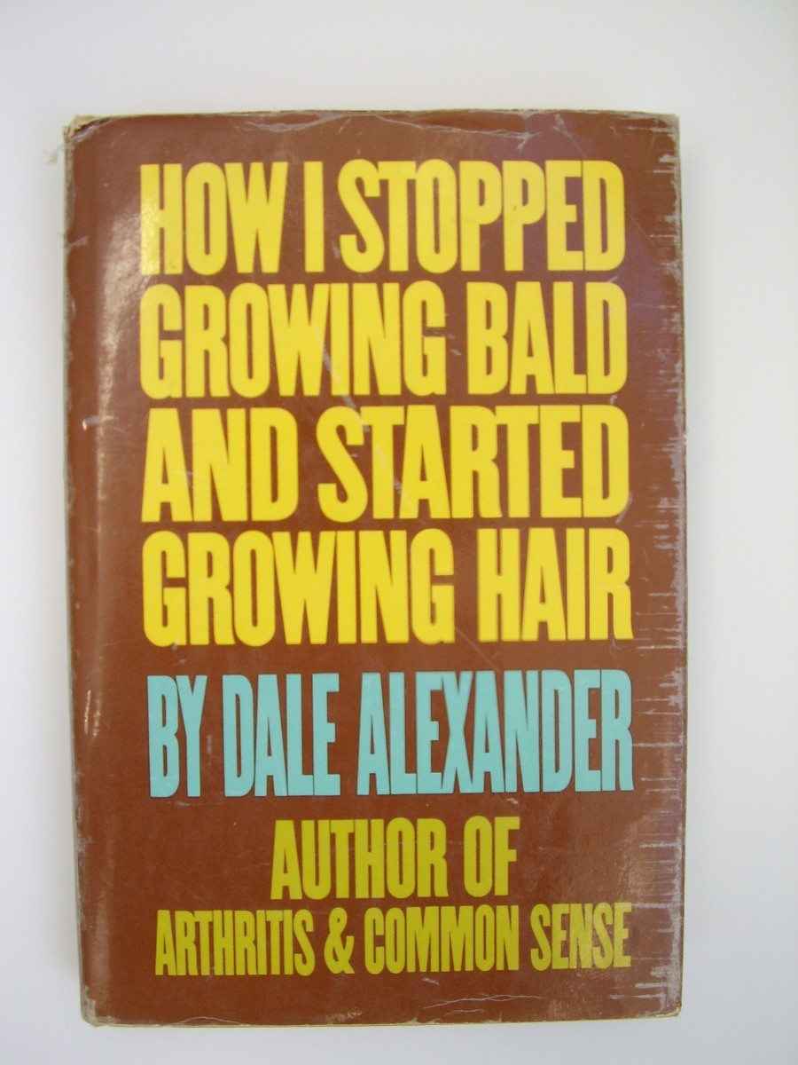 Dale Alexander's 'How I stopped growing bald & started growing hair'