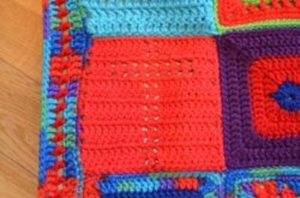 Simple Afghan Borders to Crochet