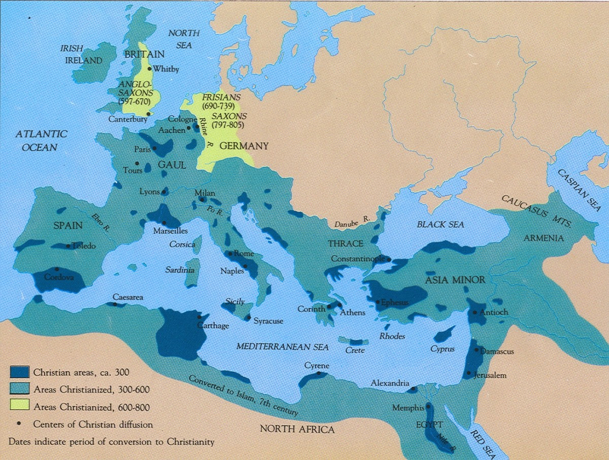 The Spread of Christianity and the Foundation of Christendom