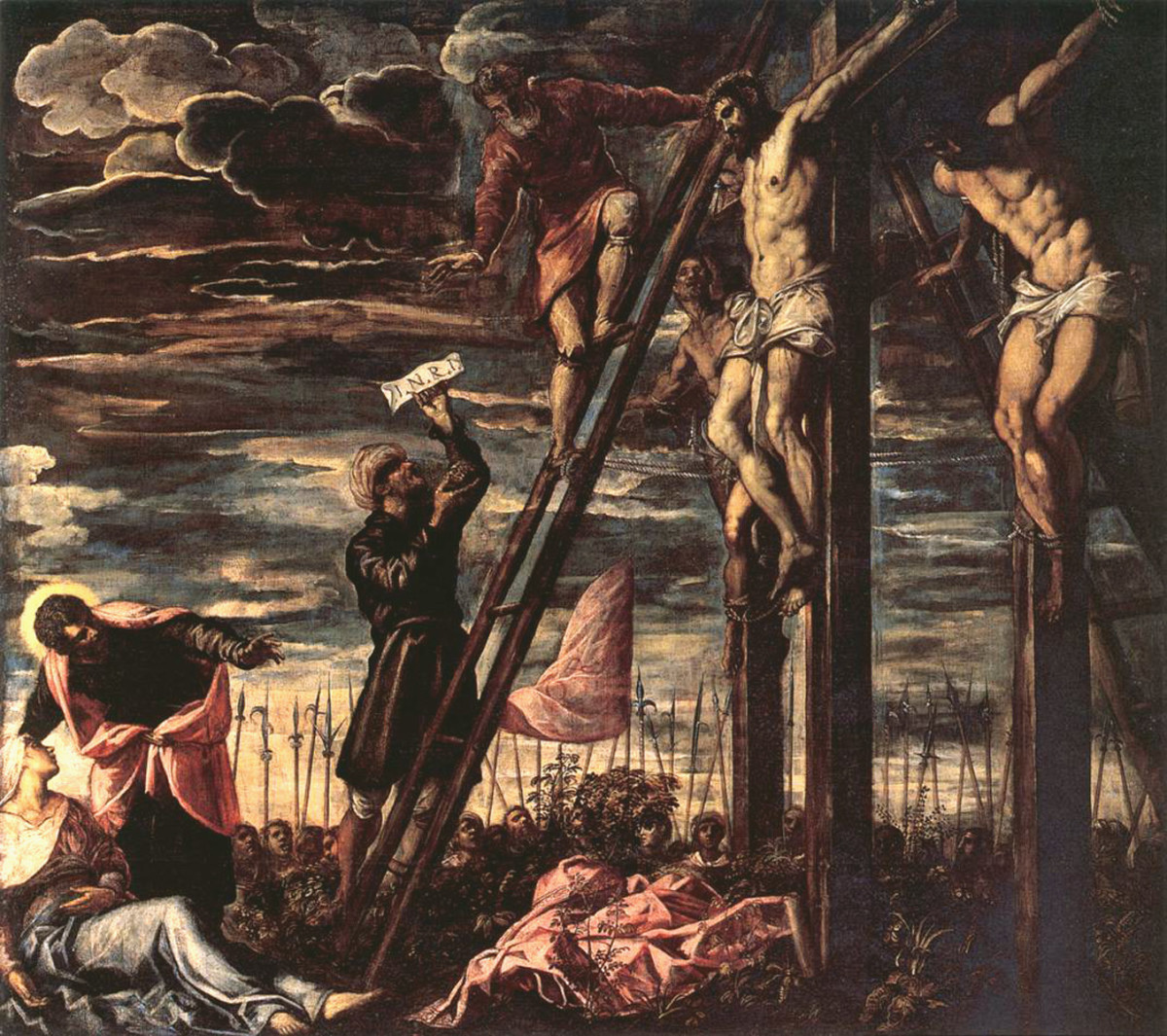 'Crucifixion of Christ' by Tintoretto (1568)