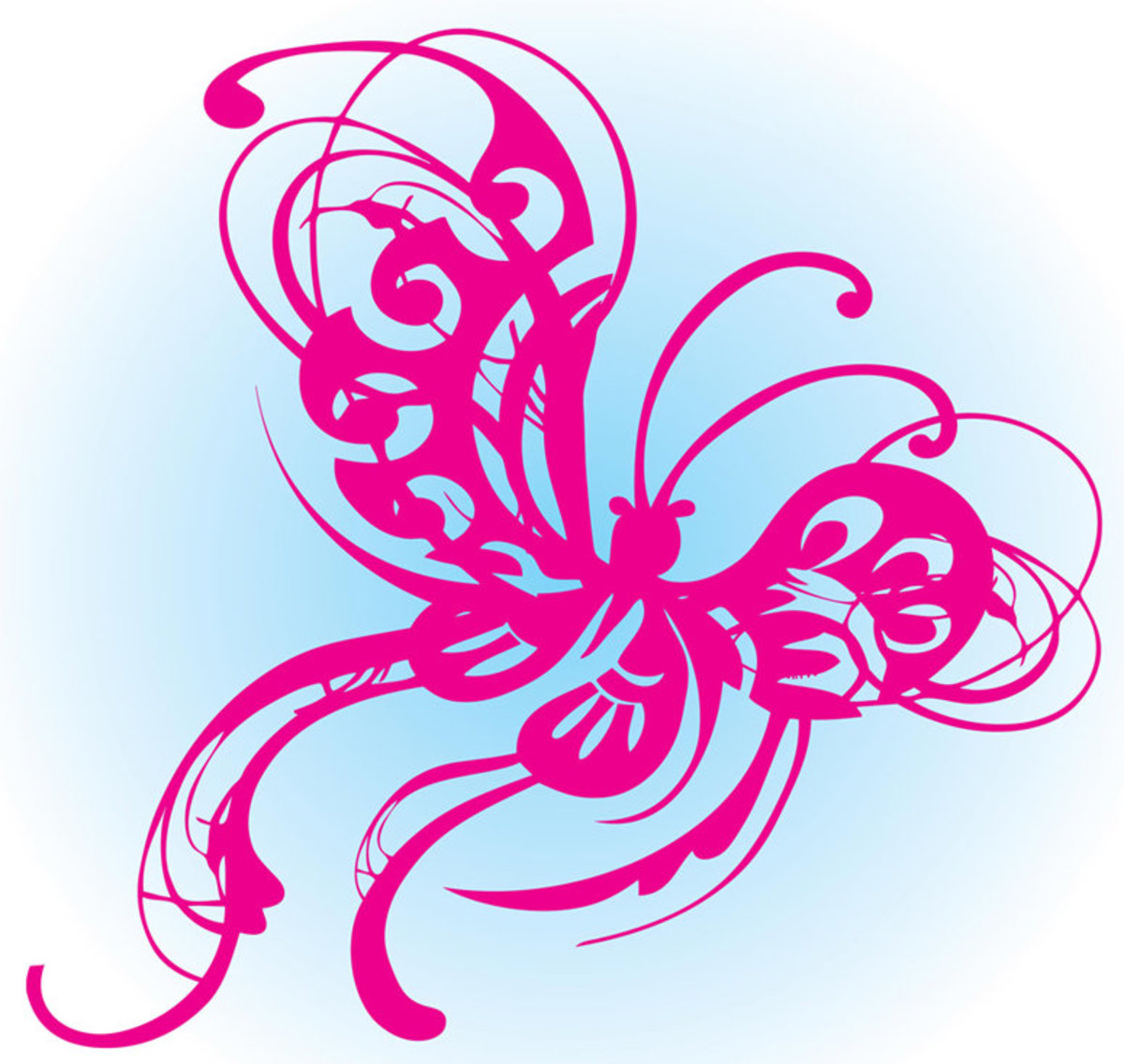 Butterfly Design Sketch