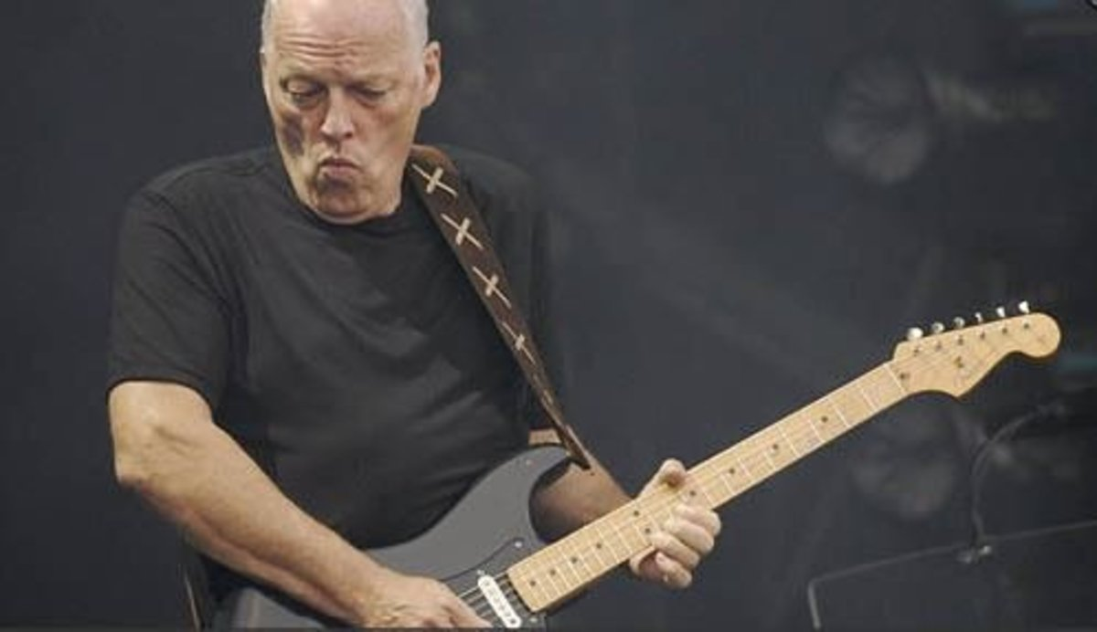 Resultado de imagen de David Gilmour Solo Guitar