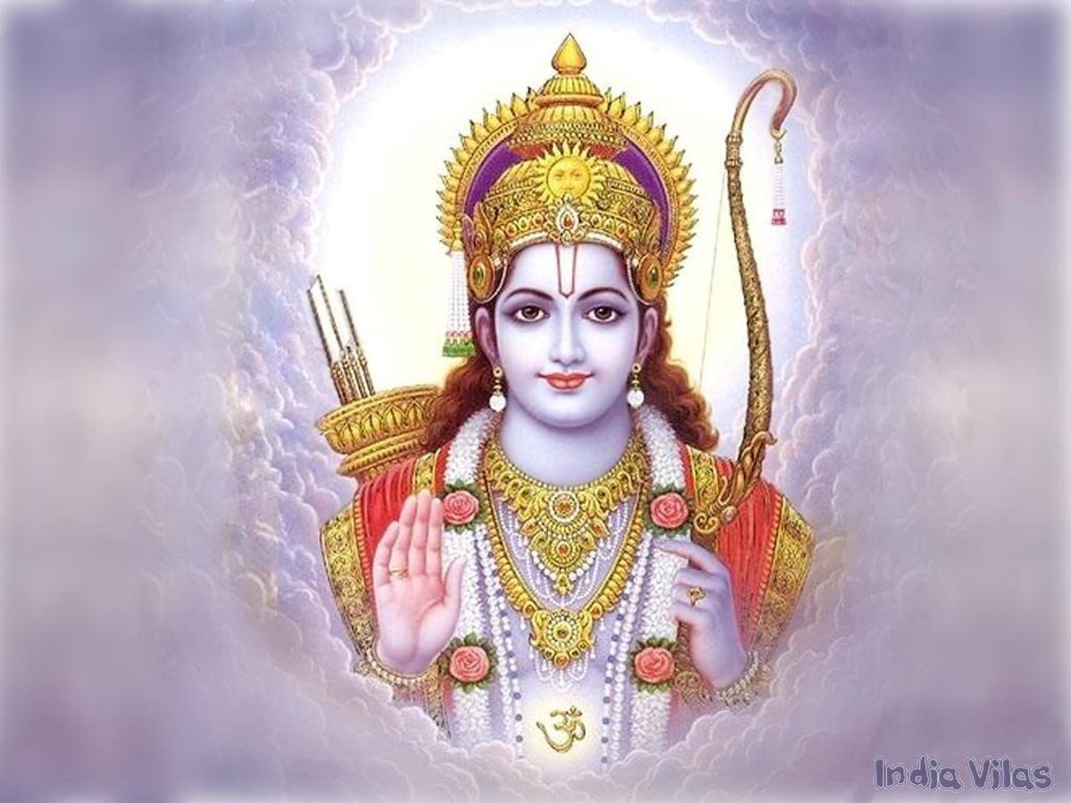 Ram depicted by himself