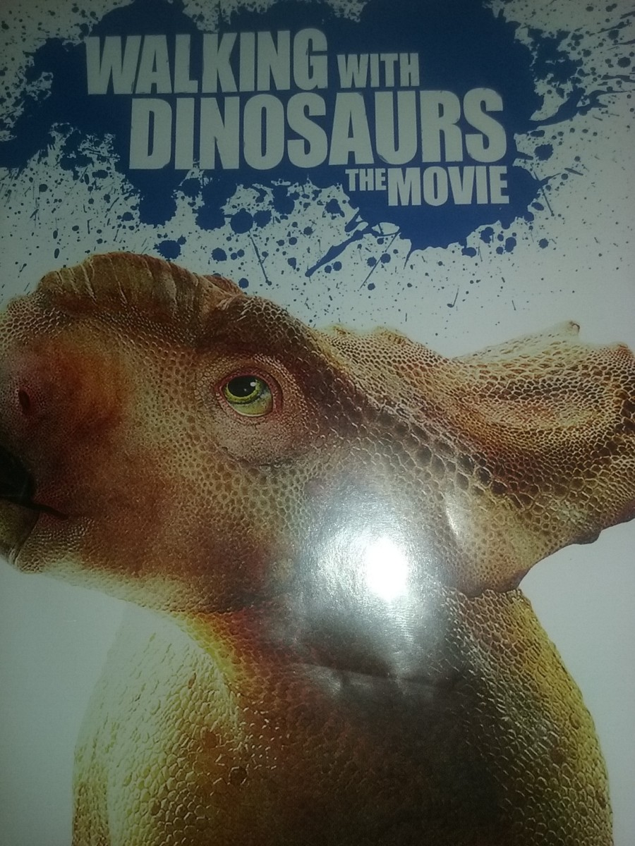 Walking With Dinosaurs the movie DVD cover